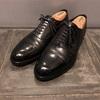 シェットランドフォックスコベントリーを鏡面磨き メンズ革靴