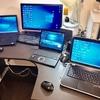 899 事務所のパソコンのセッティング終了。