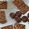 転写シートのチョコレート