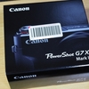 初めてのキャノン機。 「Canon Power Shot G7X Mark II」