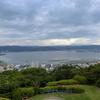 「君の名は。」の聖地、諏訪湖が一望できる立石公園。
