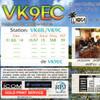 自分宛のQSL  - VK9EC -