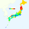 Rate of Deaths from Colon Cancer by Prefecture in Japan, 2015