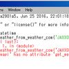 Pywapi APIを使って、Pythonで天気予報を作ろう!(後半)
