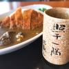 比叡山峰道レストランで、カツカレー&ソフトでぽん!