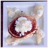 今日の朝食・おやつはヘルシーパンケーキ