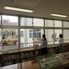 図書館ボランティア 図書室の掲示の模様替え
