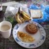 ネパ-ル滞在日記 続編 その9回目 ネパ-ルの朝食 二回目