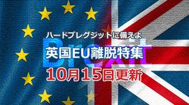 「EU離脱協定案合意へ期待が高まるが…」ハードブレグジットに備えよ!英国EU離脱特集