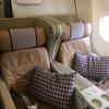 【搭乗記】シンガポール航空622便でシンガポール→関空、B787-10のビジネスクラス利用!