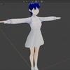 VRoid StudioとBlenderでオリジナルキャラクターを作る その⑤ スカートの作成