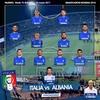 ワールドカップ欧州予選 グループG イタリア - アルバニア