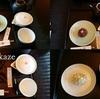 ◆ランチの後の「虎屋菓寮」で和菓子のお茶セット
