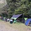 子供が生まれて初めてのキャンプツーリング