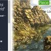 """Piece of Land Vol 1 """"The Lost World"""" ゴツゴツとした大小様々な「岩」と「植物」のリアルな自然環境3Dモデル素材&ツールセット"""
