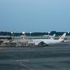 成田空港は閑散としておりました