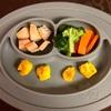 お野菜からの離乳食  [179日目  カボチャどちやのヨーグルトのフレンチトースト]