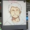 【お絵かきの工程】iPadで絵を描く