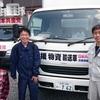 鳥取県から支援物資トラック、往復23時間