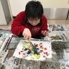 『絵画教室』今日のテーマは節分。息子が描いたのは?