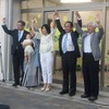 ゆら登信(たかのぶ)さんが野党3党の推薦を得て事務所開きを行いました@和歌山