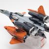 【1】ハセガワ 1/72 VF-31をNASAの実験機風に改修してみる【激情のワルキューレ・マクロスモデラーズ・製作・改造】