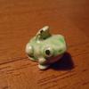 親子の蛙。 でも蛙の子は蛙じゃない。