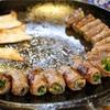 光化門 韓国では珍しい?牛肉の野菜巻き@산정집
