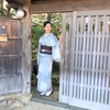 【コーディネート例】まだ暑いけどお気に入りの市松と猫コーデ【10月】