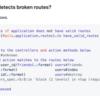 壊れたルーティングを検出する route_mechanic gem と、その内部実装の話