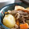 ついに日本人の心の料理にトライ、肉じゃが