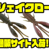 【エンジン】全方位波動系アクションベイト「シェイクロー」通販サイト入荷!
