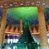 緑に輝く天井画があまりにも幻想的なバンコクのお寺@Wat Paknam(ワットパクナム)