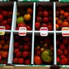 高山市丹生川から、プチトマトが届いた。