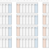 Python + openpyxlを使って、月末日を除く五十日始まりのカレンダーを作成してみた