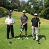 今日は、とても暑い中のゴルフでした。