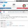 2019-04-02 カープ第4戦(ナゴヤドーム)●4対7 中日(1勝3敗0分)3連敗で最下位転落。