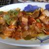 幸運な病のレシピ( 1271 )夜:棒々鶏、酢豚、バラブロックのリヨー、汁