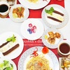バレンタインデーの朝食、ランチ、夕食(3食の献立)とプレゼント/My Homemade Breakfast, Lunch, and Dinner/อาหารที่ทำเอง