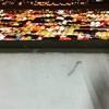 光の宝石箱・上から見るナイトマーケット【鉄道市場・タラートロットファイラチャダー】@エスプラネード駐車場, バンコク