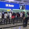 EU離脱決定後 イギリス国内への入国者数が純減