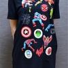 MarvelTシャツ