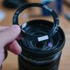 M.ZUIKO DIGITAL ED 12-100mm F4.0 IS PRO 前玉周りの飾りリングが浮いてきたので修理するか迷ったけど両面テープで貼り直した