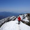 唐松岳 残雪期登山とテント泊