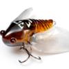 【Megabass】水面をもがく春蝉をリアルにイミテートしたマイクロ・クローラーベイト「タイニーシグレ」に新色追加!通販予約受付中!