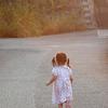 次女と散歩