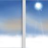今日もイラストで遊ぶ〜雪山を魚眼風に描けるかなぁ?・・・