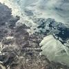 春秋航空日本 IJ1051(成田→ハルビン)B737-800 極東ロシアの凍てつく河を上空から見て震える