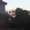居間から富士山🗻