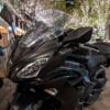 冬のバイクの目的地① 丸ノ内イルミネーション